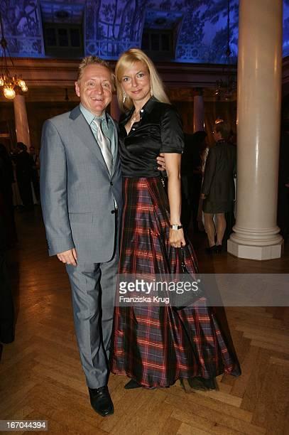 Michaela Merten Und Ehemann Pierre Franckh Bei Der Verleihung Des 6 Internationalen Buchpreis Corine Im Prinzregententheater In München