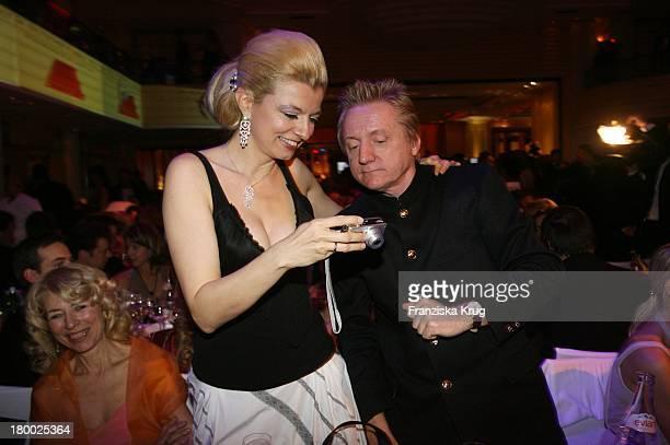 Michaela Merten Und Ehemann Pierre Franckh Beim 34. Deutschen Filmball Im Hotel Bayerischer Hof In München Am 200107 .