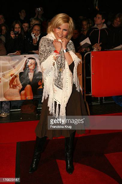 Michaela Schaffrath alias Gina Wild In Germany at Premiere In my sister's shoes in the In Des Cinestar Sony Center Berlin