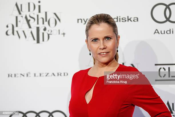Michaela Schaffrath attends the Audi Fashion Award 2014 on October 09 2014 in Hamburg Germany