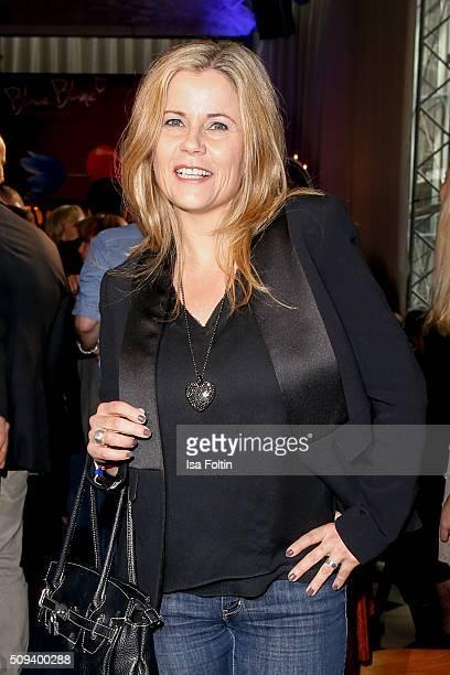 Michaela Schaffrath attends the Blaue Blume Awards 2016 on February 10 2016 in Berlin Germany