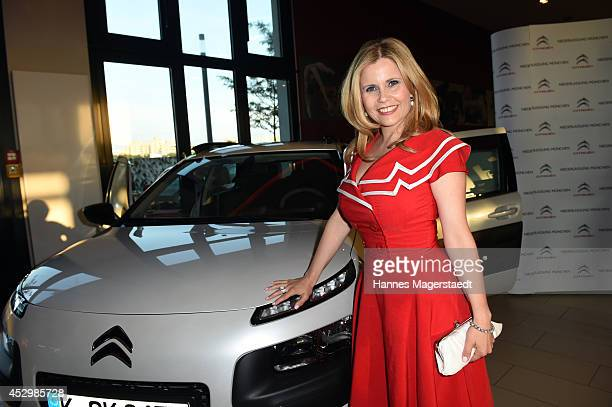 Michaela Schaffrath attends the 'Citroen C4 Cactus' Munich Preview at Leonardo Royal Hotel on July 31 2014 in Munich Germany