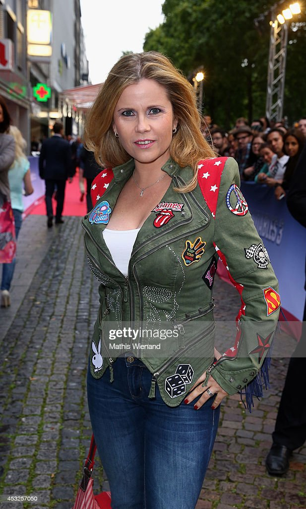Michaela Schaffrath attends the premiere of the film The