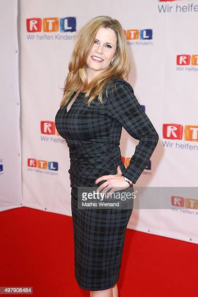 Michaela Schaffrath attends the RTL Telethon 2015 on November 19 2015 in Cologne Germany This year marks the 20th anniversary of the RTL Telethon...