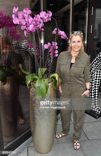 Michaela Schaffrath attends the Sommerfest der Agenturen during Munich Film Festival 2017 at Hugo's on June 24 2017 in Munich Germany