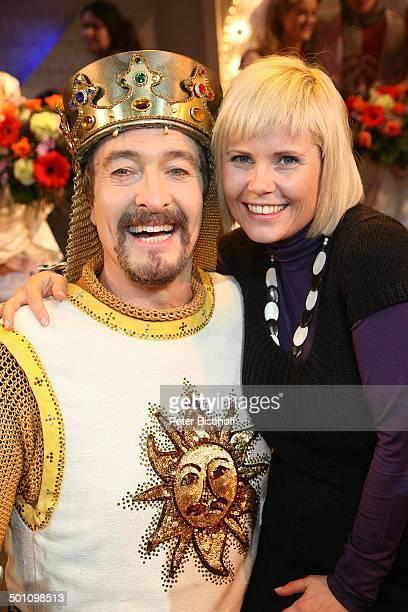 """Michaela Schaffrath , Darsteller aus Komikergruppe """"Monty Python"""", Premiere Musical """"Monty Pythons Spamalot"""", Kölner Musical Dome, Köln,..."""