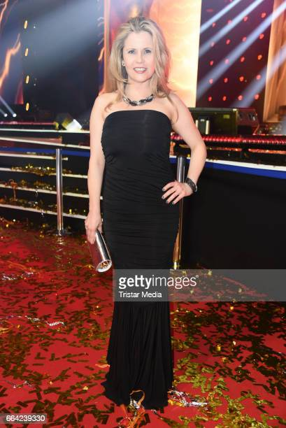 Michaela Schaffrath during the LEA PRG Live Entertainment Award 2017 After Show Party at Festhalle Frankfurt on April 3 2017 in Frankfurt am Main...