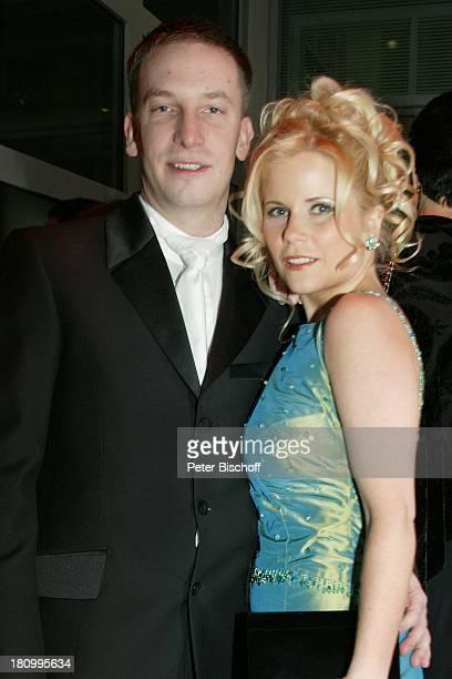 """Michaela Schaffrath , Ehemann Axel Schaffrath, 33. """"Ball des Sports"""", Frankfurt am Main, , """"Frankfurter Festhalle"""", Mann ;"""
