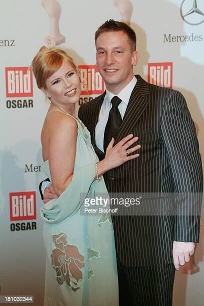 Michaela Schaffrath Ehemann Axel Schaffrath Verleihung des MDR'BildOsgars' 2004 Leipzig Neues Rathaus ExPornostar roter Teppich Promis Prominente...