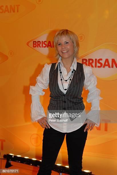 """Michaela Schaffrath , MDR """"Brisant Brillant 2007"""" Verleihung, München, Bayern, Deutschland, Europa, Preis, Auszeichnung, roter Teppich,..."""