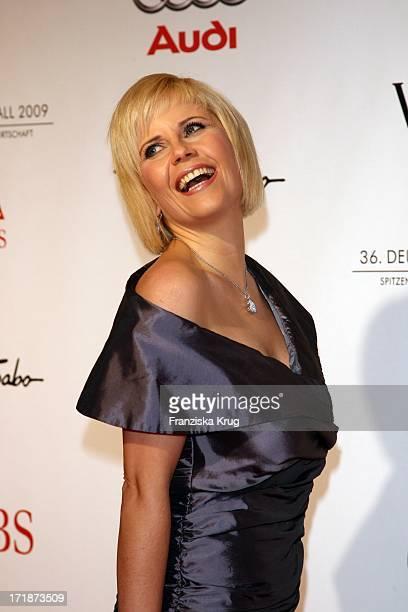 Michaela Schaffrath On Arrival to 36th German Film Ball at Hotel Bayerischer Hof in Munich