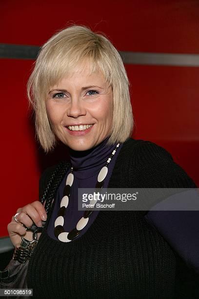 Michaela Schaffrath Porträt geb 6 Dezember 1970 Sternzeichen Schütze Premiere Musical Monty Pythons Spamalot Kölner Musical Dome Köln...