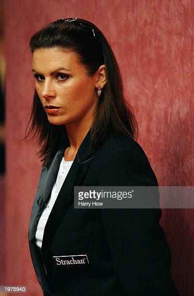 Michaela Tabb becomes the first female to referee at the World Snooker Championships during the opening round of the Embassy World Snooker...