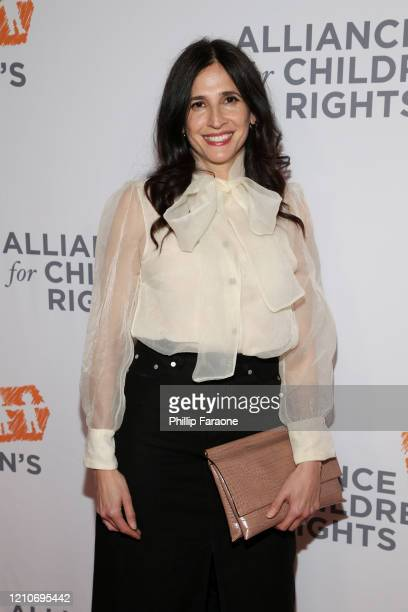Michaela Watkins attends The Alliance For Children's Rights 28th Annual Dinner at The Beverly Hilton Hotel on March 05 2020 in Beverly Hills...