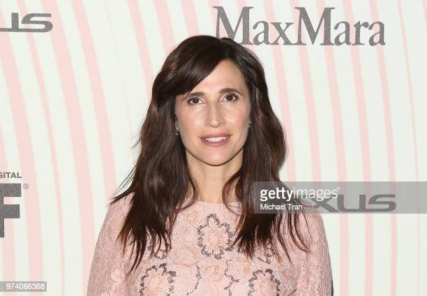 Michaela Watkins attends the Women In Film 2018 Crystal Lucy Awards held at The Beverly Hilton Hotel on June 13 2018 in Beverly Hills California
