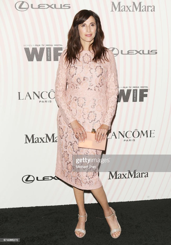 Michaela Watkins attends the Women In Film 2018 Crystal + Lucy Awards held at The Beverly Hilton Hotel on June 13, 2018 in Beverly Hills, California.
