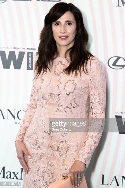 Michaela Watkins attends Women In Film 2018 Crystal Lucy Award at The Beverly Hilton Hotel on June 13 2018 in Beverly Hills California