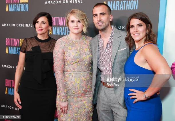 Michaela Watkins Jillian Bell Paul Downs Colaizzo and Brittany O'Neill attend the premiere of Amazon Studios' Brittany Runs A Marathon at Regal LA...