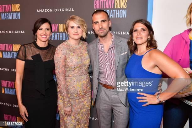 Michaela Watkins Jillian Bell Paul Downs Colaizzo and Brittany O'Neill attend the premiere of Amazon Studios' Brittany Runs A Marathon at Regal LA...