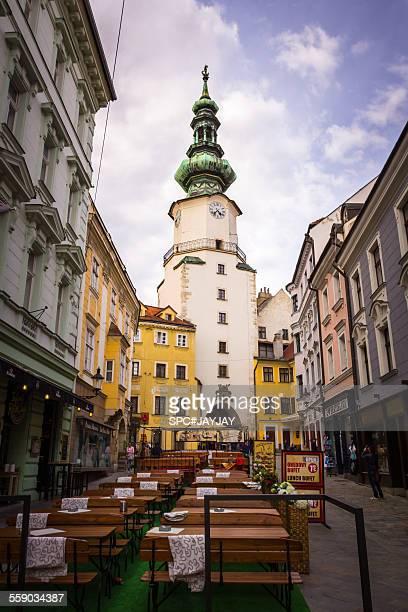 Michael's Gate the City Gate of Bratislava