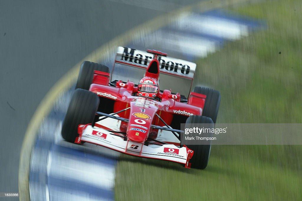 Michael Schumacher of Germany and Ferrari  : News Photo