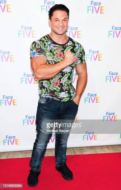 MichaelVitally Vernon attends Meet The New 'Friends' The Introduction of Face Five at The Royals on August 14 2018 in Beverly Hills California
