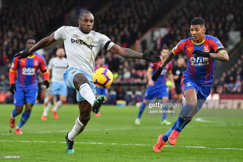 GBR: Crystal Palace v West Ham United - Premier League
