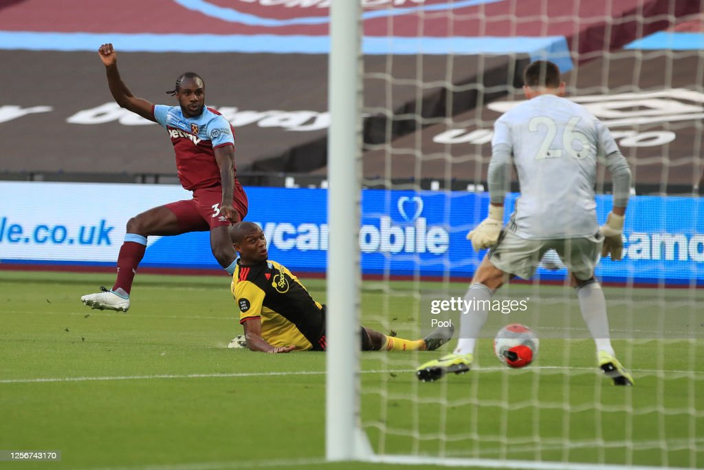 West Ham United v Watford FC - Premier League : News Photo