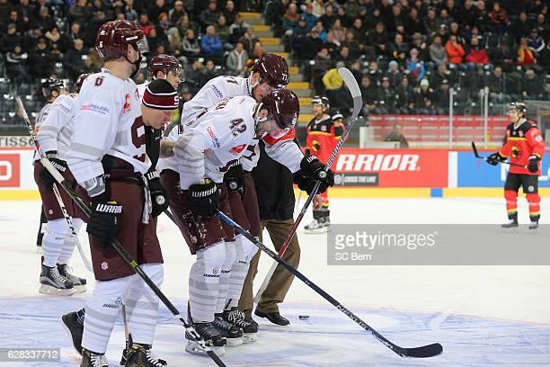 Michal Barinka of Prague during the Champions Hockey League Quarter Final match between SC Bern and Sparta Prague at Postfinance Arena on December...