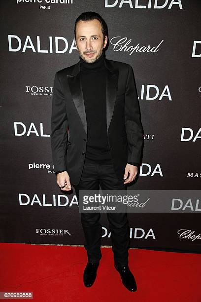 Michal Cohen attends 'Dalida' Paris Premiere at L'Olympia on November 30 2016 in Paris France