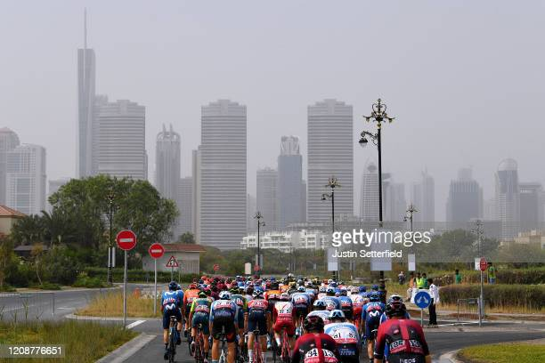 Michal Golas of Poland and Team INEOS / Christian Knees of Germany and Team INEOS / Rudy Barbier of France and Team Israel Start-Up Nation / Gianluca...