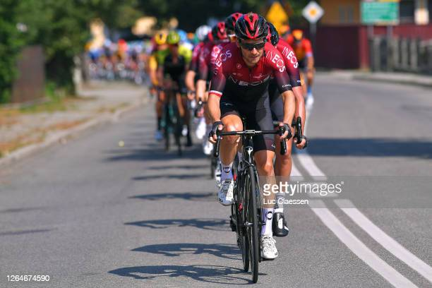 Michal Golas of Poland and Team Ineos / Ian Stannard of The United Kingdom and Team Ineos / Peloton / during the 77th Tour of Poland 2020, Stage 4 a...