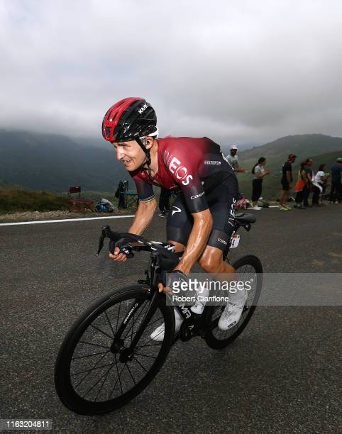 Michal Kwiatkowski of Poland and Team INEOS / Col de Solour / during the 106th Tour de France 2019, Stage 14 a 117km stage from Tarbes to Tourmalet...
