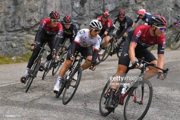 Michal Kwiatkowski of Poland and Team INEOS / Dylan van Baarle of The Netherlands and Team INEOS / during the 71st Criterium du Dauphine 2019 Stage 6...