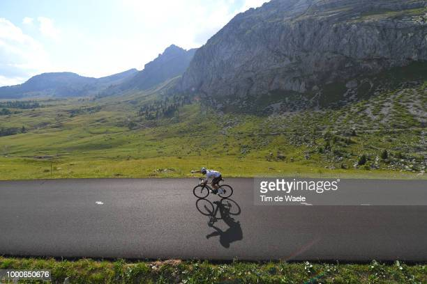 Michal Kwiatkowski of Poland and Team Sky / Col de La Colombière / Landscape / Mountains / during the 105th Tour de France 2018 / Stage 10 a 1585km...