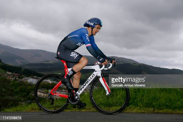 Michal Kwiatkowski of Poland and Team Sky / during the 59th Itzulia-Vuelta Ciclista Pais Vasco 2019, Stage 1 a 11,2km Individual Time Trial stage...