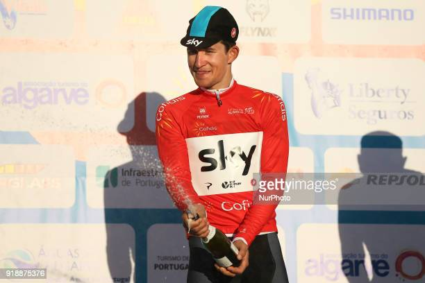 Michal Kwiatkowski of Team Sky after the 2nd stage of the cycling Tour of Algarve between Sagres and Alto do Foia on February 15 2018