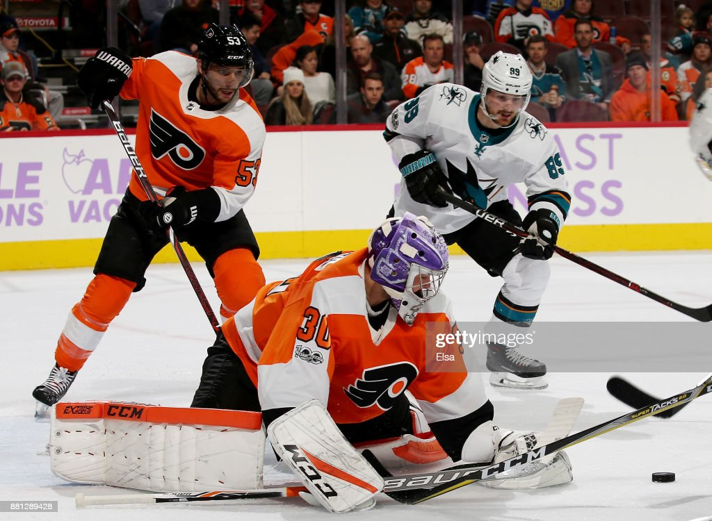 San Jose Sharks v Philadelphia Flyers : News Photo
