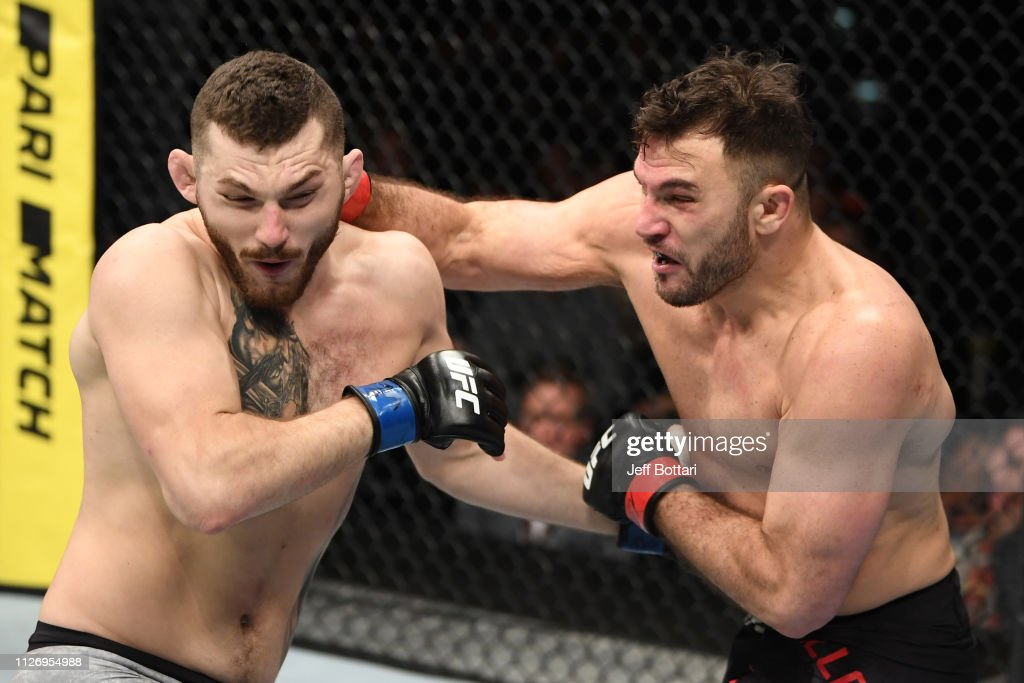 UFC Fight Night: Villante v Oleksiejczuk : News Photo