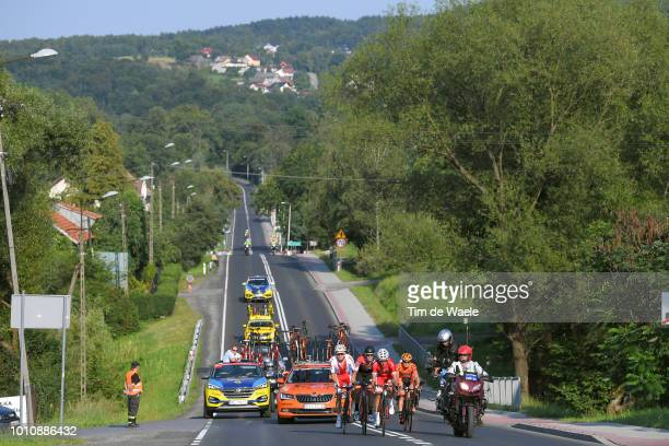 Michal Paluta of Poland and Team Ccc Sprandi Polkowice / Stephane Rossetto of France and Team Cofidis Solutions Credits / Alessandro De Marchi of...