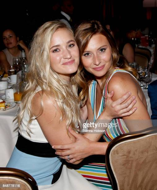 Michalka and Aly Michalka attend the 6th Annual Women Making History Awards at The Beverly Hilton Hotel on September 16 2017 in Beverly Hills...