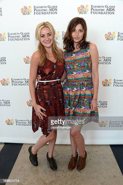 Michalka and Aly Michalka attend the Elizabeth Glaser Pediatric AIDS Foundation's 24th Annual A Time For Heroes at Century Park on June 2 2013 in Los...