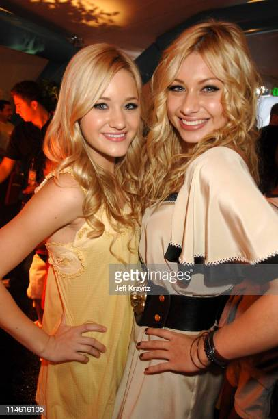 AJ Michalka and Aly Michalka of Aly AJ during Nickelodeon's 20th Annual Kids' Choice Awards After Party at Pauley Pavilion in Westwood California...