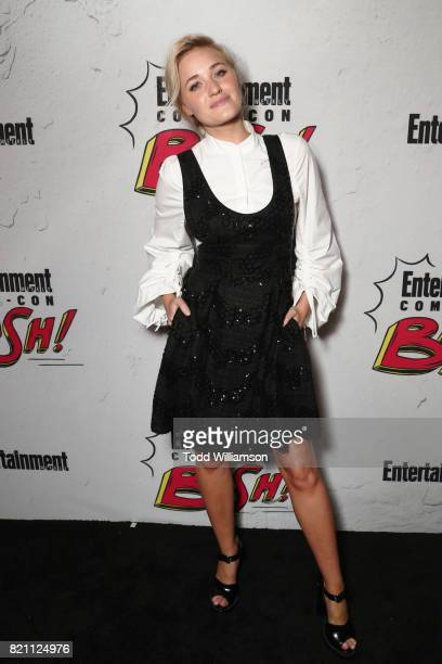 Michalka at Entertainment Weekly's annual ComicCon party in celebration of ComicCon 2017 at Float at Hard Rock Hotel San Diego on July 22 2017 in San...