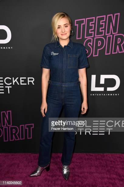 Michalka attends a Special Screening of Bleecker Street Media's Teen Spiritat ArcLight Hollywood on April 02 2019 in Hollywood California