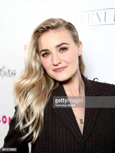 Michalka attends NYLON's Annual Young Hollywood Party sponsored by Pinkie Swear at Avenue Los Angeles on May 22 2018 in Hollywood California