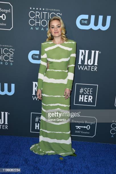 Michalka attends the 25th Annual Critics' Choice Awards at Barker Hangar on January 12, 2020 in Santa Monica, California.