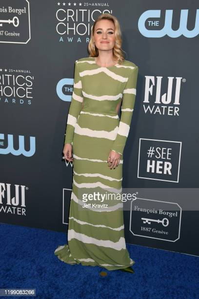 Michalka attends the 25th Annual Critics' Choice Awards at Barker Hangar on January 12 2020 in Santa Monica California