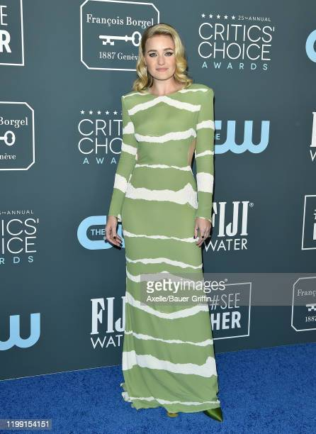 Michalka attends the 25th Annual Critics' Choice Awards at Barker Hangar on January 12 2020 in Santa Monica California