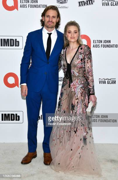 Michalka attends the 28th Annual Elton John AIDS Foundation Academy Awards Viewing Party Sponsored By IMDb And Neuro Drinks on February 09, 2020 in...